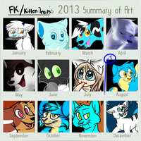 2013 Summary Of Art by kitopia