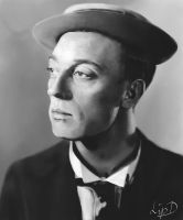 Buster Keaton by LipD