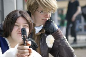 APH Cosplay Hommage to MASH by curiousMigo