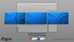 Adobe Photoshop CS4 Splashart by bharathp666