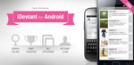 iDeviant for Android - feature graphics by ursimon