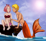 NS: Narufish by Kitsunena