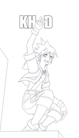 3D Sora Lineart by Totemo-Oishii
