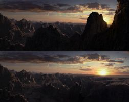 Krypton Matte Painting by Scharborescus