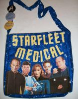 Starfleet Medical Bag by PiratePincushion