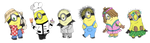 Pixel Minions 2 by FeralSonic