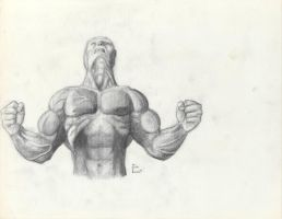 Muscle Man by JIM-SWEET
