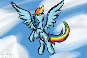 Rainbow Dash by N0rth3rn