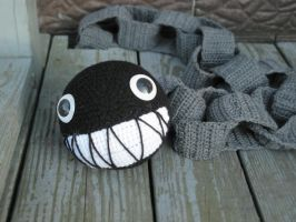Chain Chomp Scarf by vombatiformes