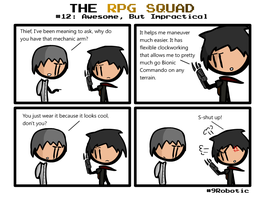 The RPG Squad #12 by Number9Robotic