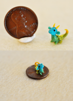 Miracle of Nature the Micro Miniature Dragon 2 by wibblequibble