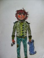 Male Character - coloured by ARTmonkey90