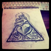 new sketch heart by WillemXSM