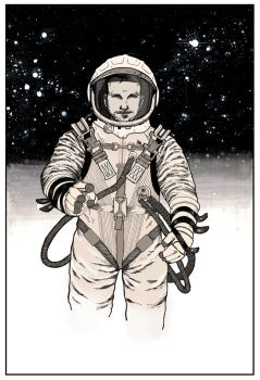 Cosmonaut Commission by Sebastian-Chow