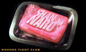 Konoha Fight Club Soap by trixieg