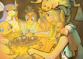 Campfire by AudGreen