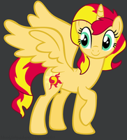 Princess Sunset Shimmer by MonkFishyAdopts