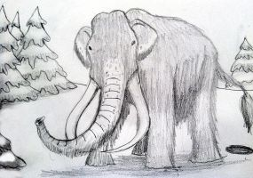 Woolly Mammoth by BrandonSPilcher
