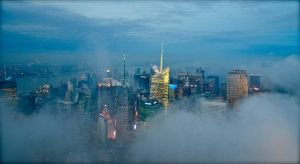 New York ~ Night, Fog and Lights ~ by Jphotography-LUV