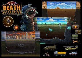 Death Worm iOS by Hofarts