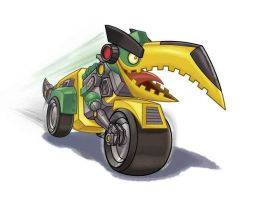 Angry Birds Transformers: Hal as Grimlock! by syazwanb