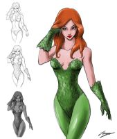 Poison Ivy by Junystudios
