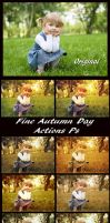 Fine Autumn Day    Actions Ps    Pack by Tetelle-passion