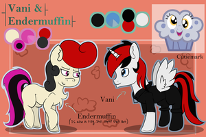 Refrence sheet for thewhitepone commission by TwitterShy