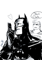 superbat doodle no. whatever i lost count by BatMantle