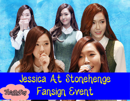 SNSD Jessica PNG Pack #2{Stonehenge Fansign Event] by ThisIsJoy13
