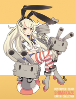 Destroyer Class Shimakaze! by hyunit
