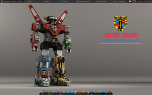 Voltron Conky Theme by speedracker
