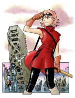 FLCL - Haruko by Daystorm