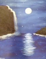 Moonlit River by AgentC-24