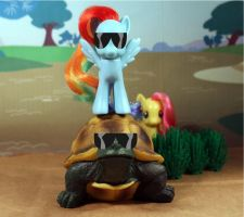 Awesome Tortoise Awesome Pony by AnimatorAR