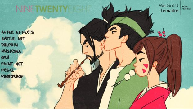 Rainmeter - OW Champloo Theme by Anteater97