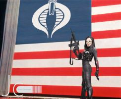 G.I. Joe - Baroness Showing Support for Cobra by Nayias01