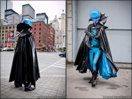 Megamind in Metrocity by gstqfashions