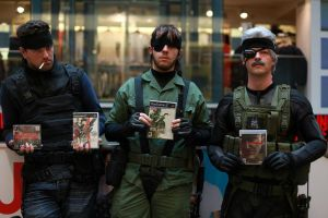 Old Snake Metal Gear Solid 4 cosplay by Gollum-net
