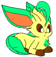 Leafeon by RiuAuraeon