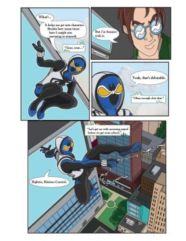 Spiderman Weaver Comic pg2 by KGH786