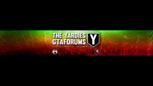 The Yardies GTAF 2013 Youtube Banner by Dnero76