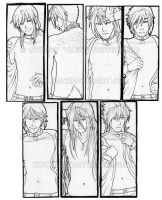 Bookmark Boys - Inked by algy