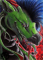 ACEO: Reign of Terror by Eleweth