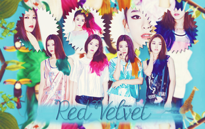 Red Velvet Wallpaper by fainleo