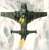 WH40k: Marauder Bomber Ambush by BiGFooT-y2k