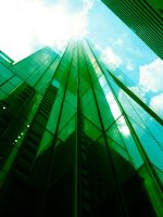 Comcast Building - Green by RaySark