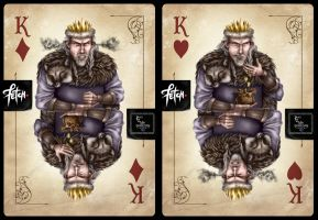 ToT Card Game BAD KING by FranciscoETCHART