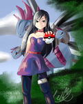 A Pokemon Trainer by CeloTheImpossible