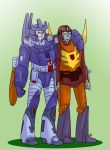 TF - Galvatron and Rodimus Prime by liliy